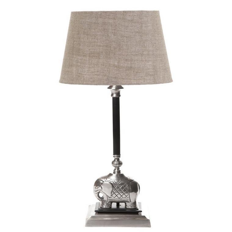 Sabu Table Lamp Dark - Antique Silver