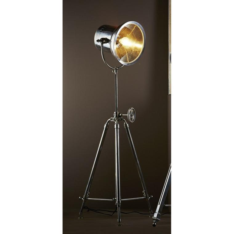 Solaris Floor Lamp - Antique Silver