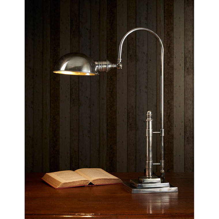 Townsend Desk Lamp - Antique Silver