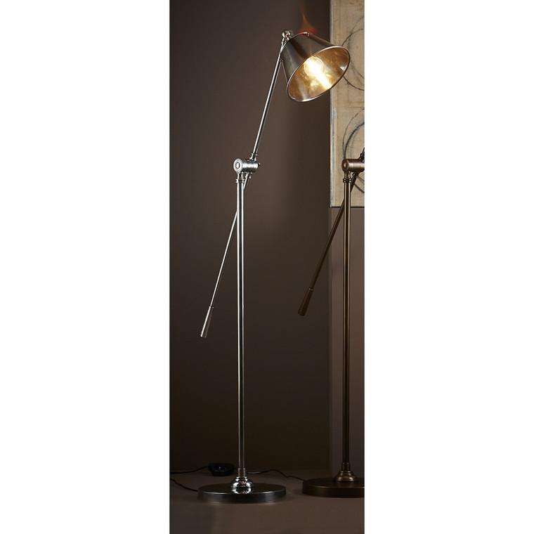 Winslow Floor Lamp - Antique Silver