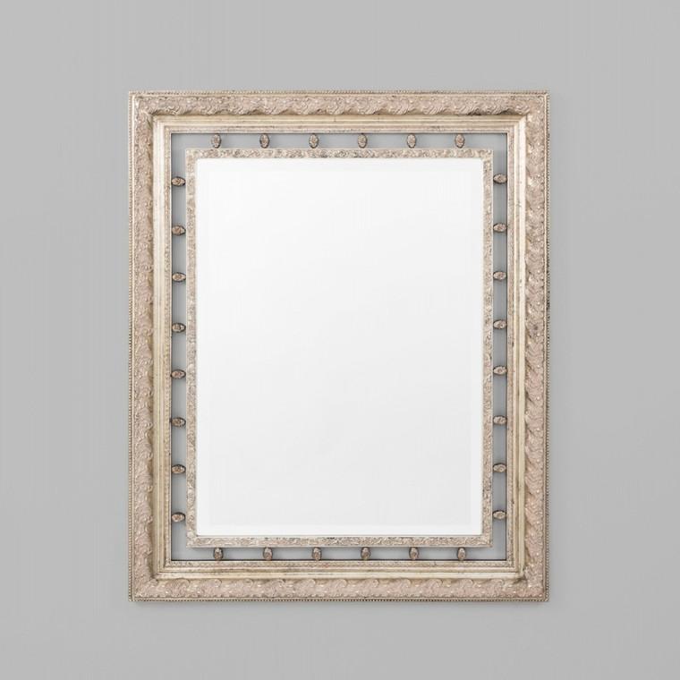 Neo Classical Silver Mirror 113X138