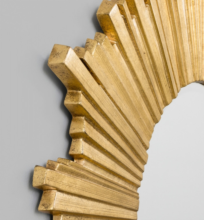 Starlight Antique Gold Mirror