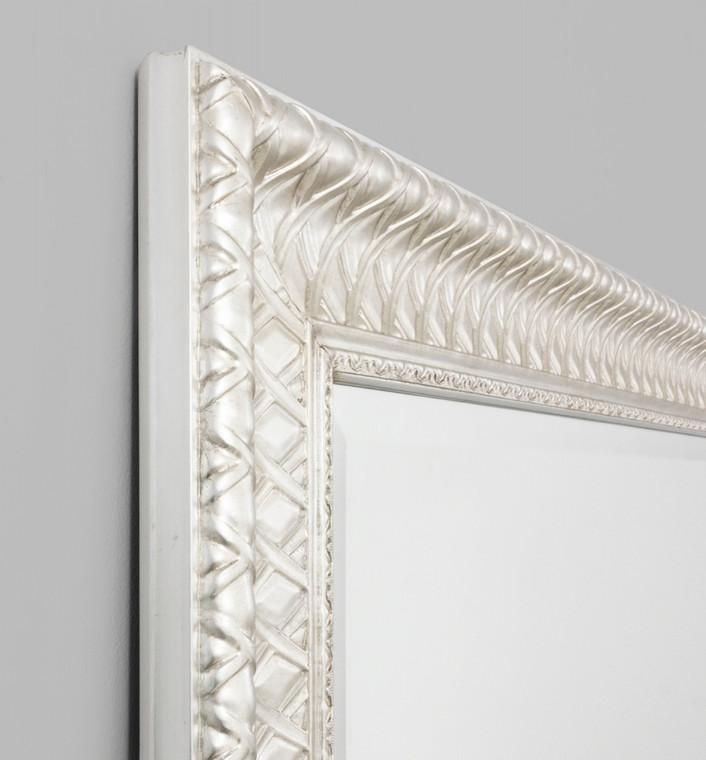Woven Silver Mirror 150X210