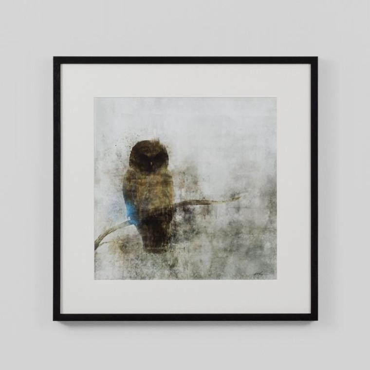 Framed Print: Guardian Owl