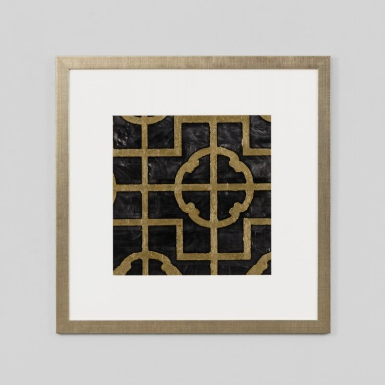 Framed Print: Shell Ebony