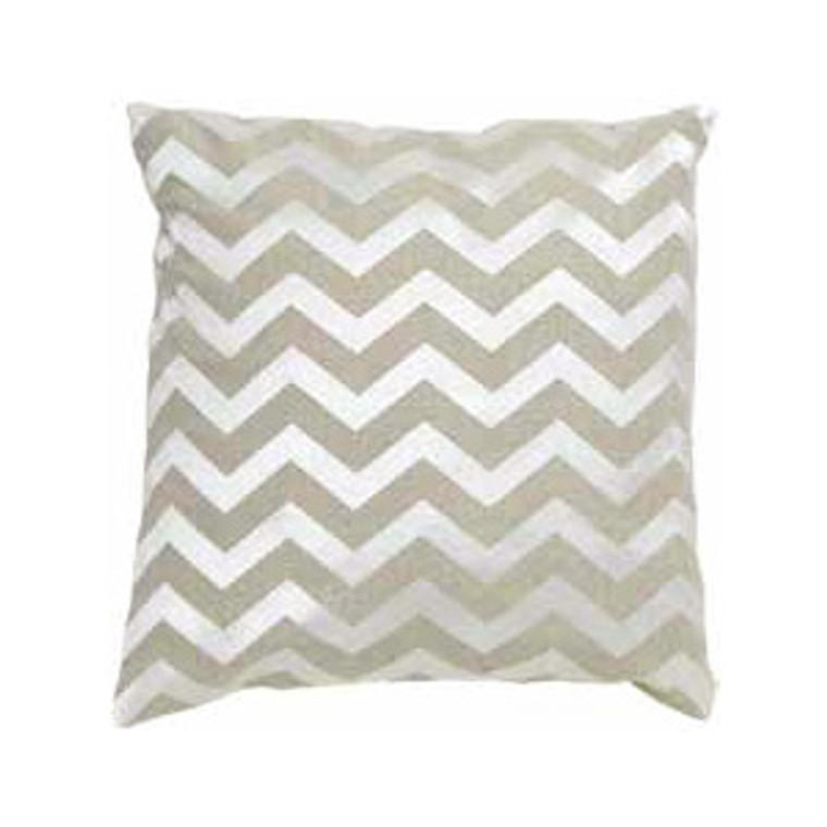Imogen Chevron Linen Cushion Small