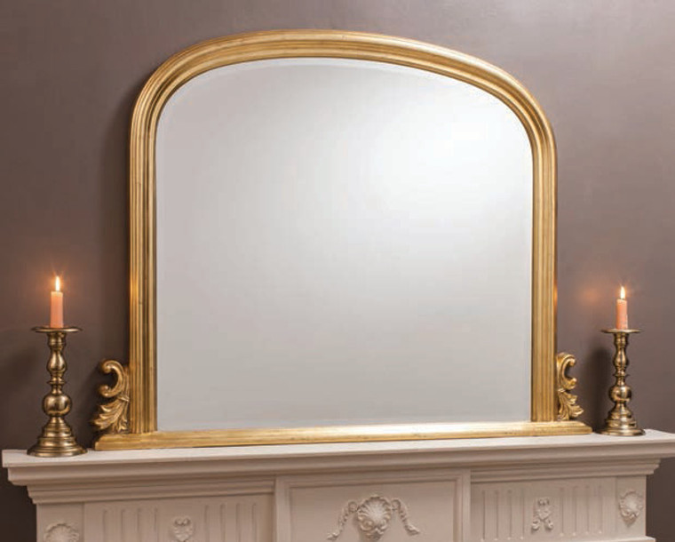 """Thornby Mirror Gold 47x37"""""""" Gallery Direct"""""""""""