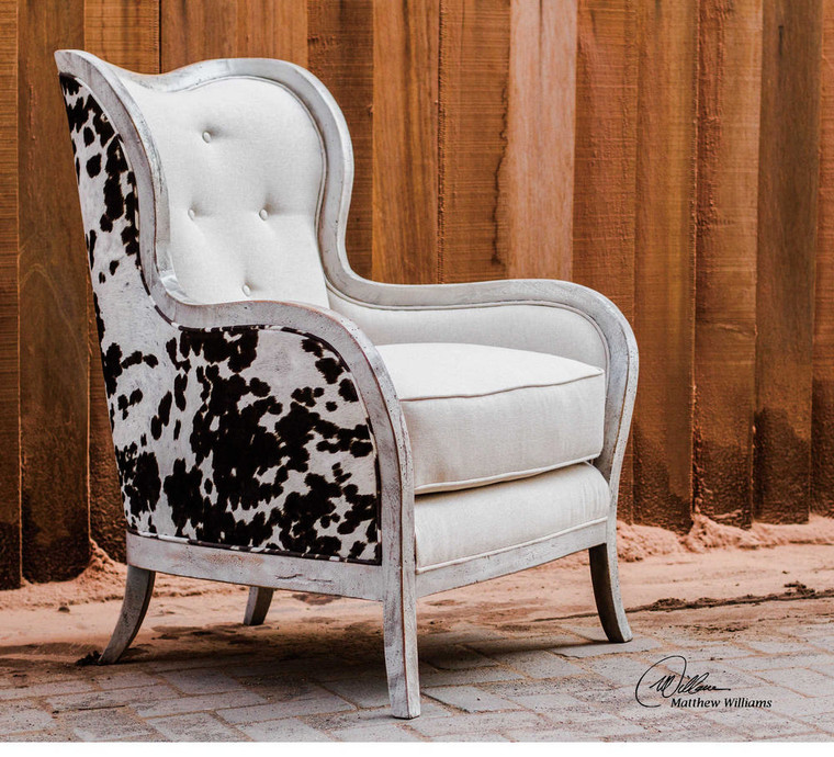 Chalina Armchair by Uttermost