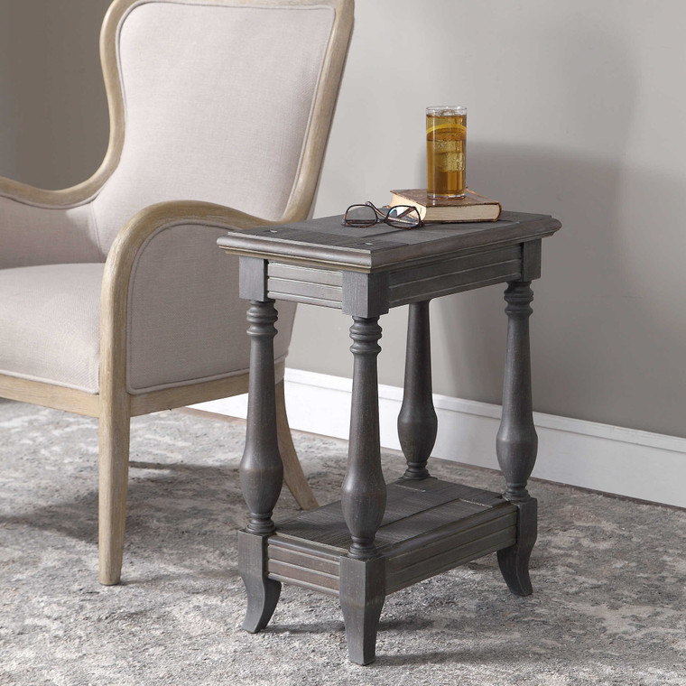 Mardonio Side Table by Uttermost