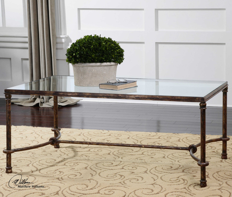 Warring Coffee Table by Uttermost