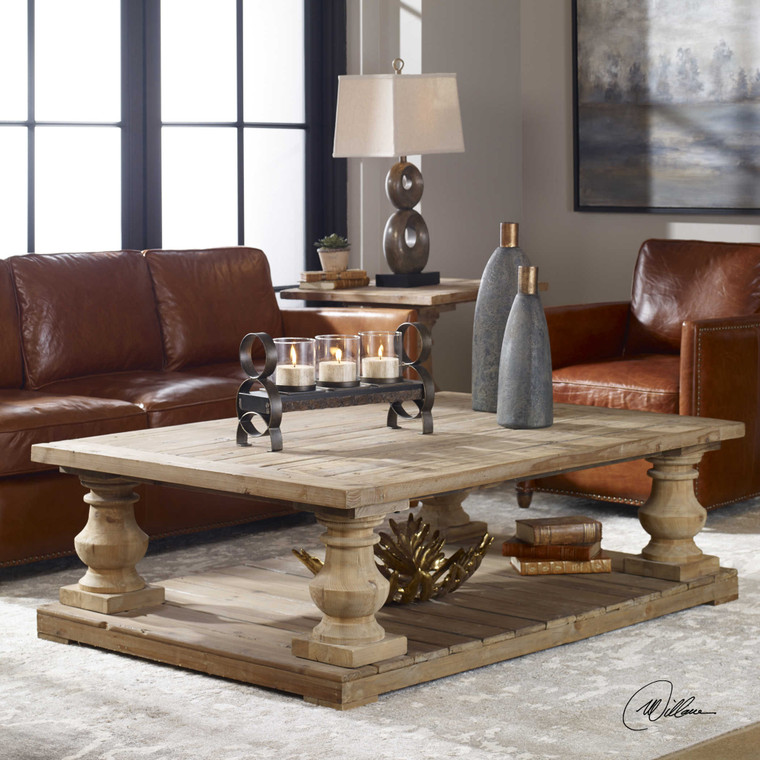 Stratford Cocktail Table by Uttermost