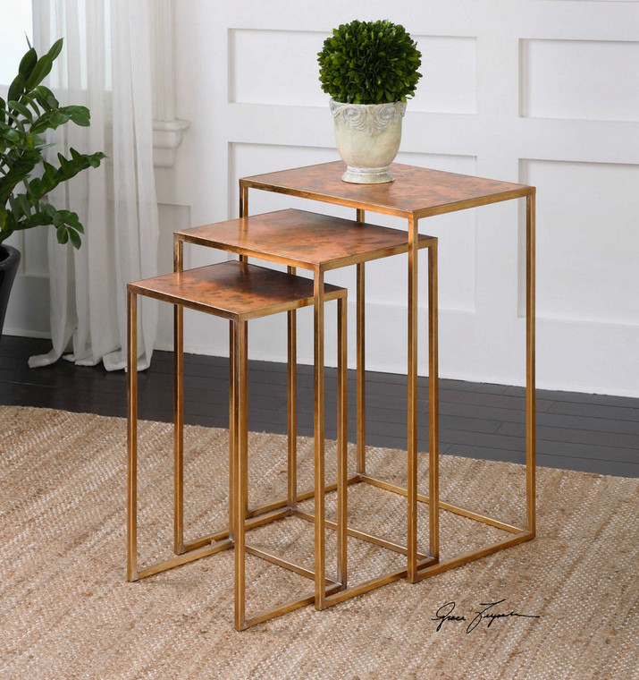 Copres Nesting Tables S/3 by Uttermost