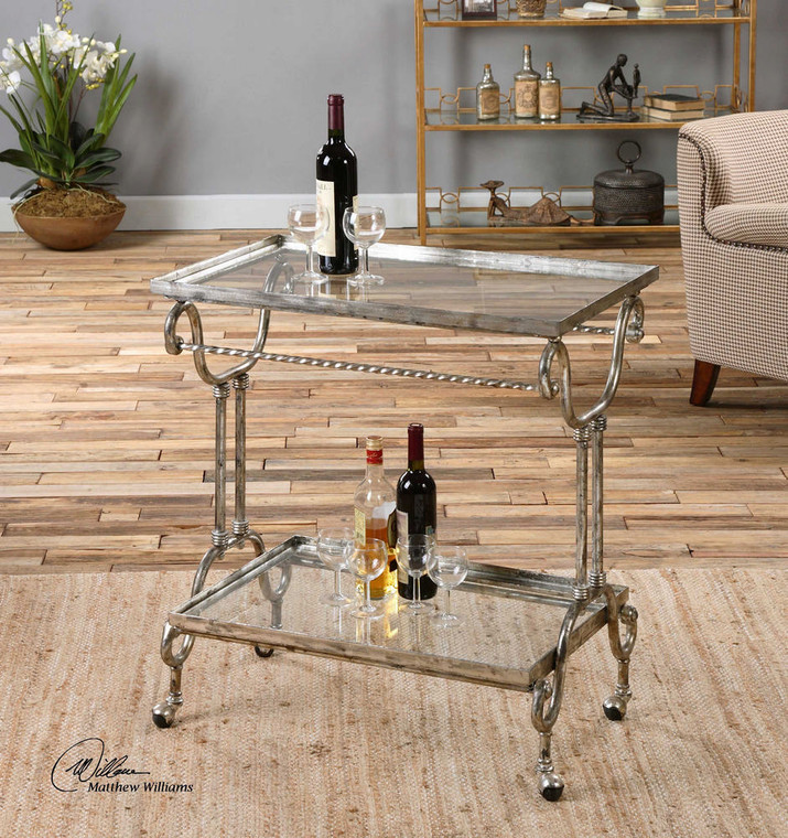 Acasia Tea Cart by Uttermost