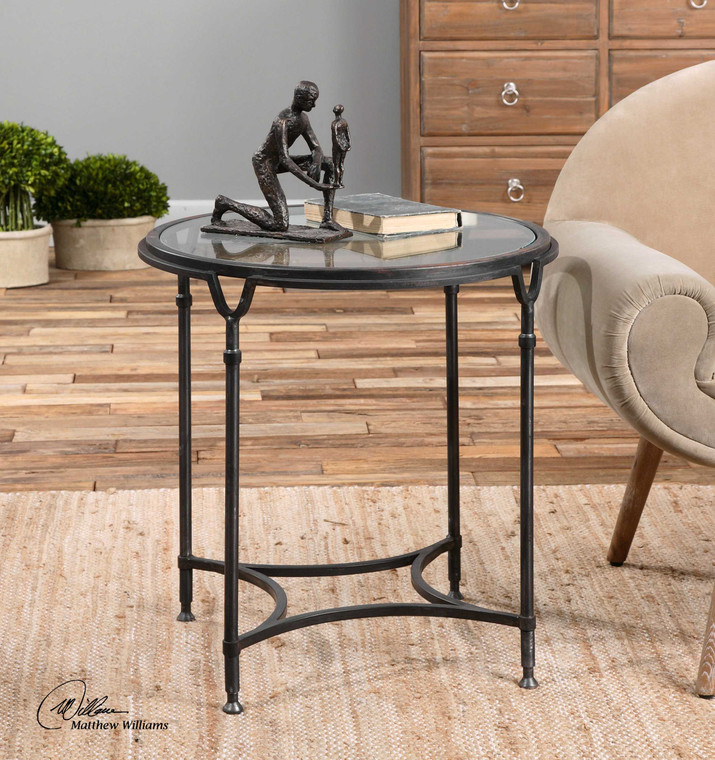 Samson Side Table by Uttermost
