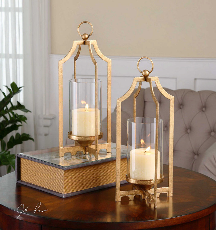 Lucy Candleholders S/2 by Uttermost