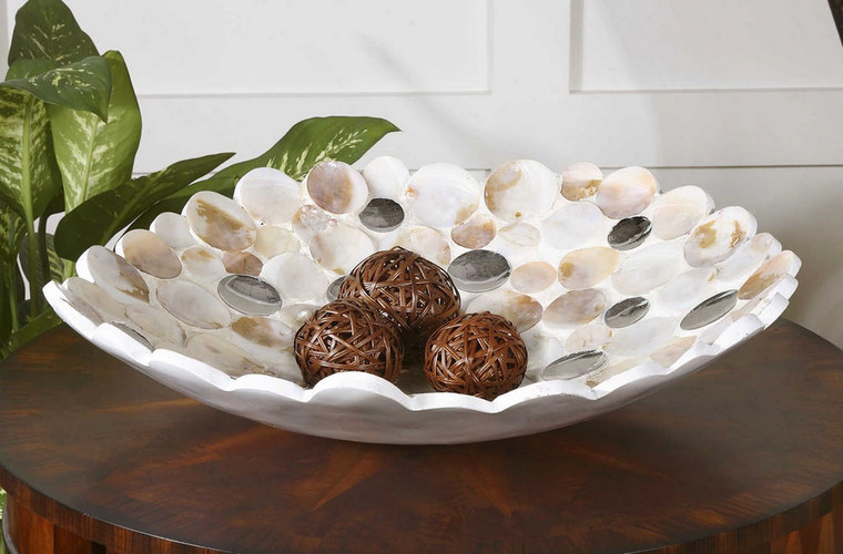 Capiz Bowl by Uttermost