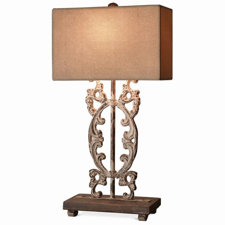 Ellis Table Lamp - Size: 91H x 51W x 30D (cm)
