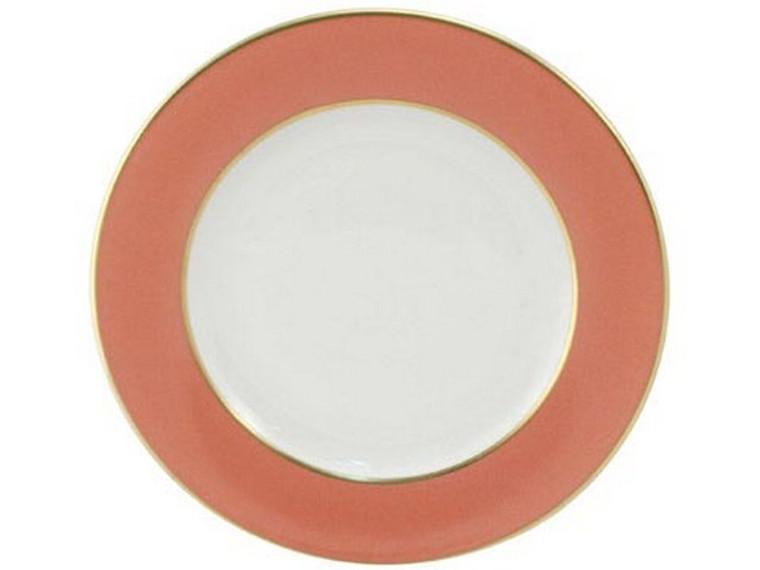 Limoges Legle Side/Cake Plate - Old Rose