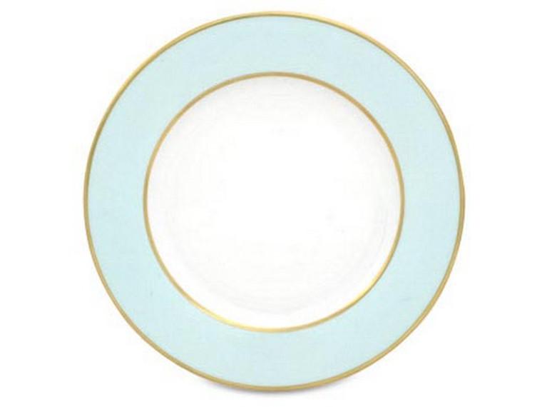 Limoges Legle Side/Cake Plate - Pastel Blue