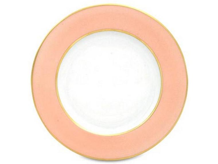 Limoges Legle Side/Cake Plate - Rose Petal