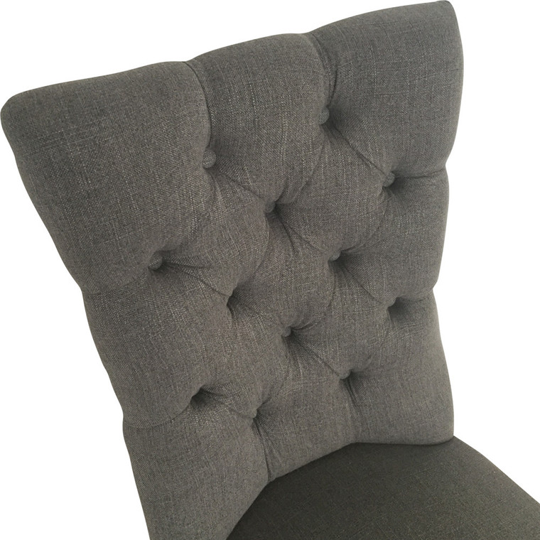 Chester Dining Chair - Storm Grey Linen