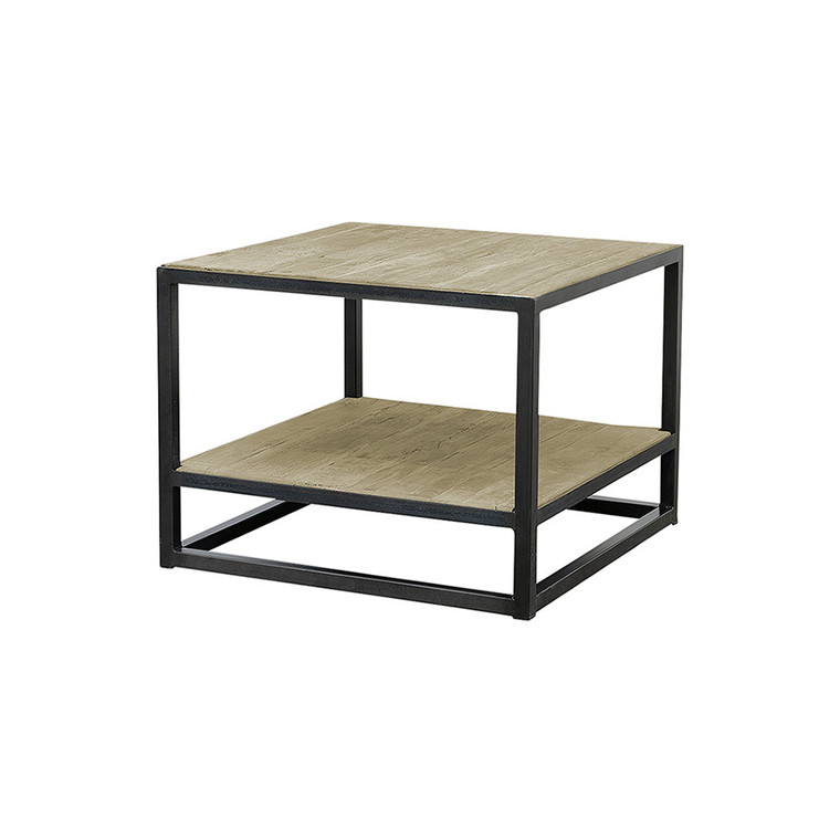 Industria Side Table with Shelf