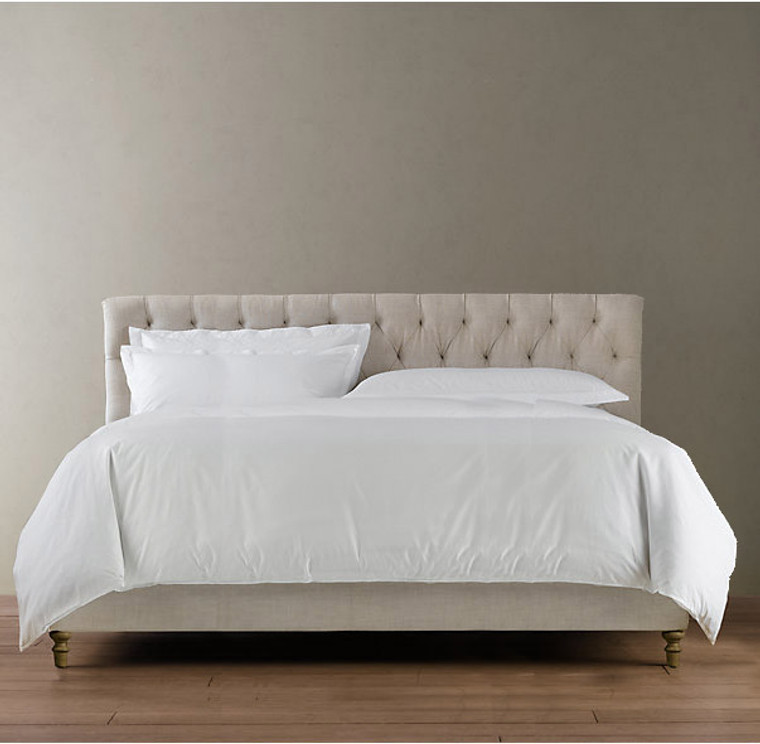 Marquis Tufted King Bed Set - front view