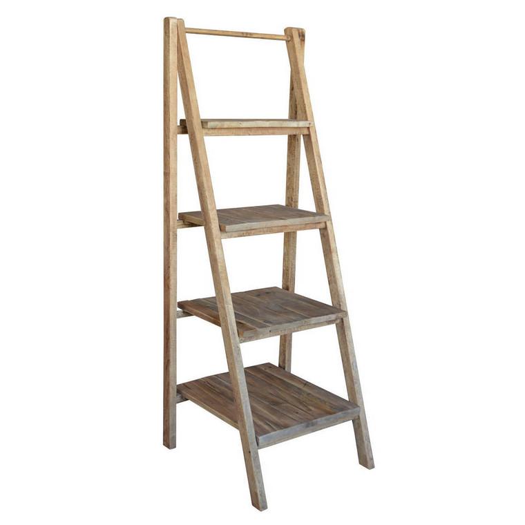 Ladder Shelf Display - Reclaimed Wood