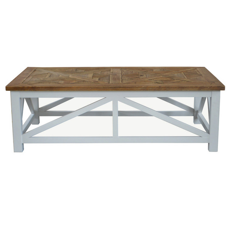 Portside Parquet Coffee Table