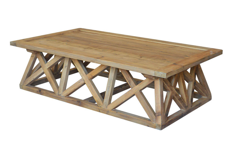 X-Factor Coffee Table - Recycled Pine