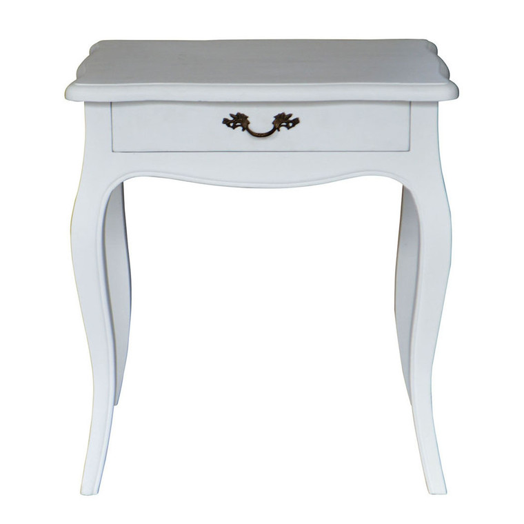 Josephine Bedside Table - White