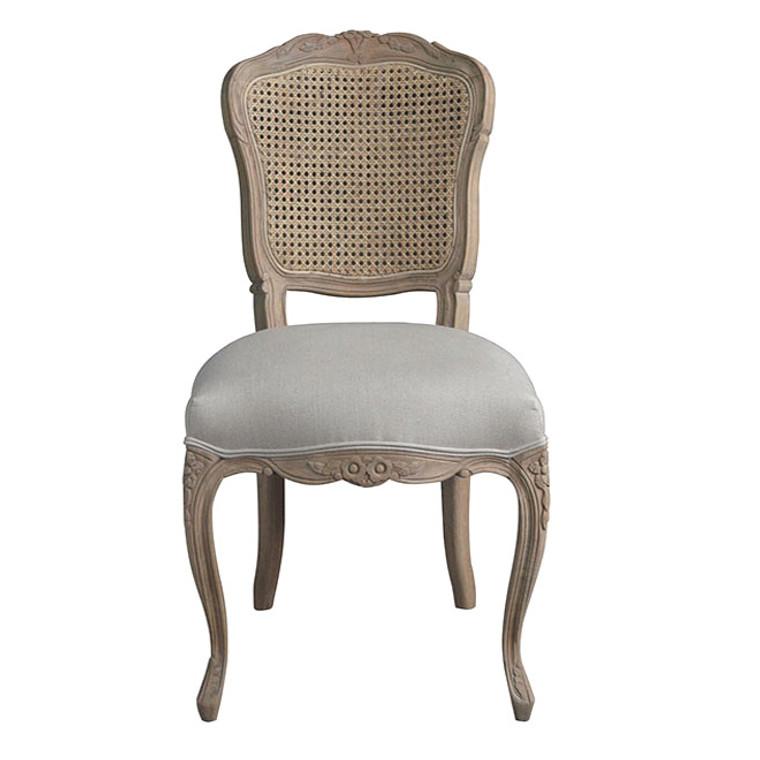 Madeleine Rattan Back Dining Chair