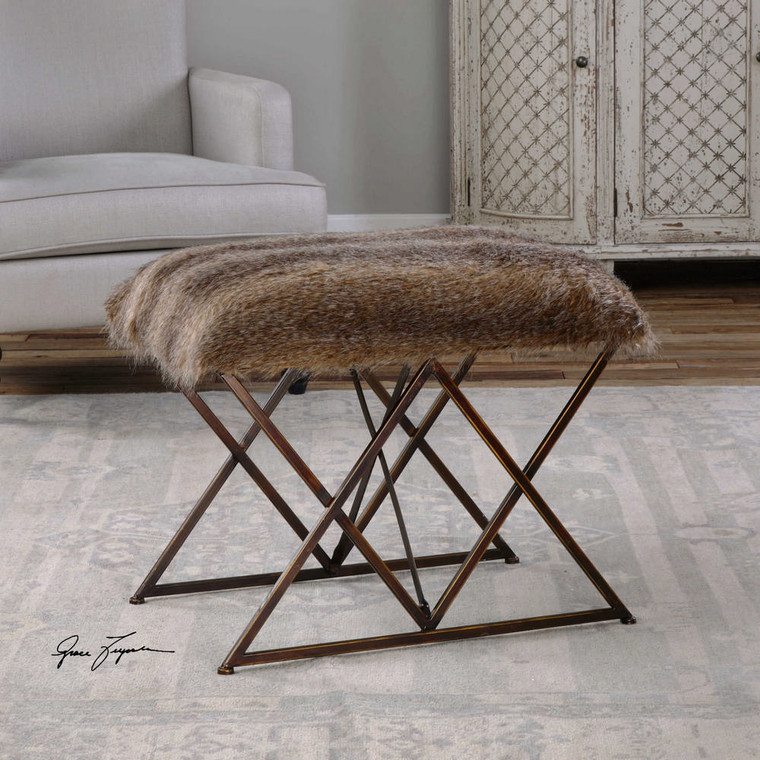 Brannen Small Bench by Uttermost