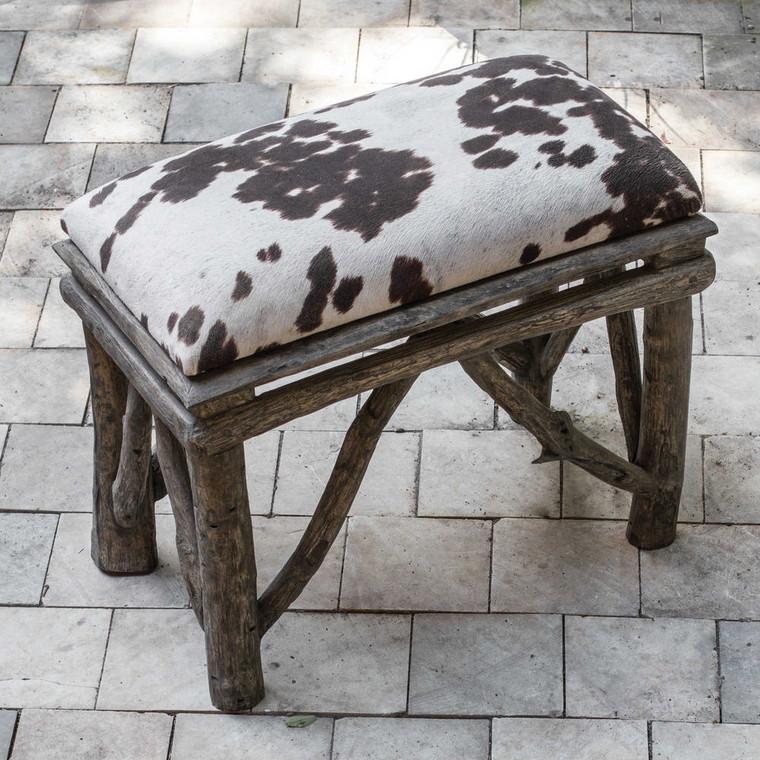 Chavi Small Bench by Uttermost