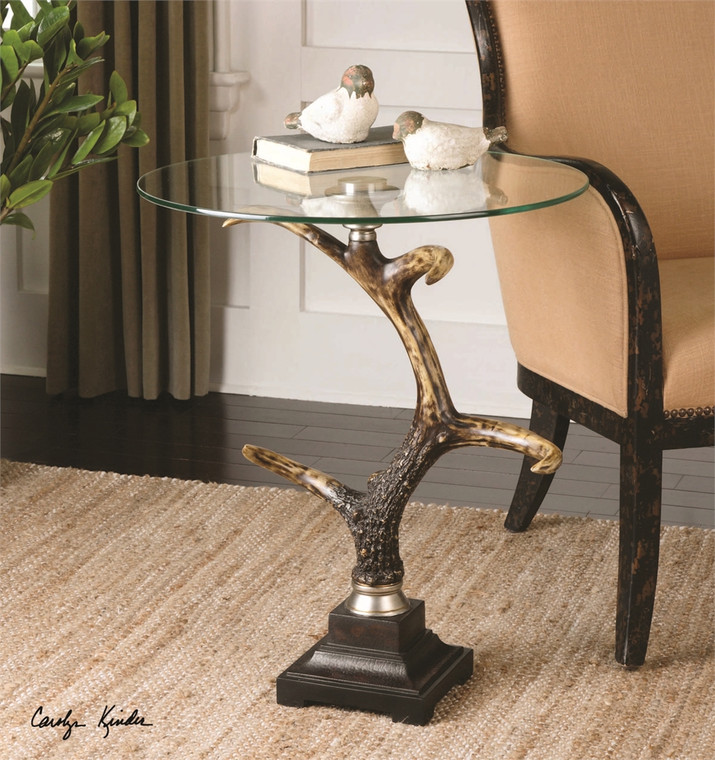 Stag Horn Accent Table - by Uttermost