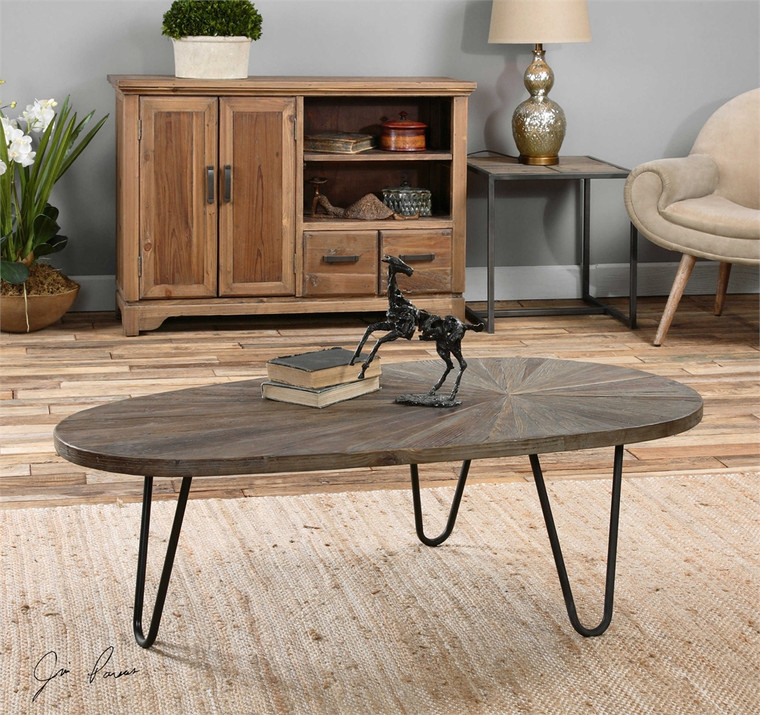 Leveni Coffee Table - by Uttermost