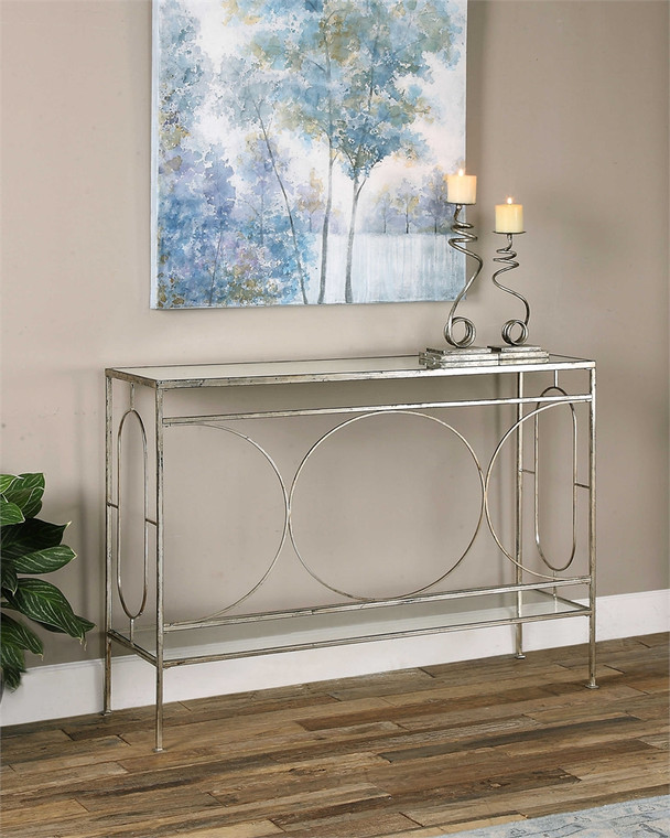 Luano Console Table - by Uttermost