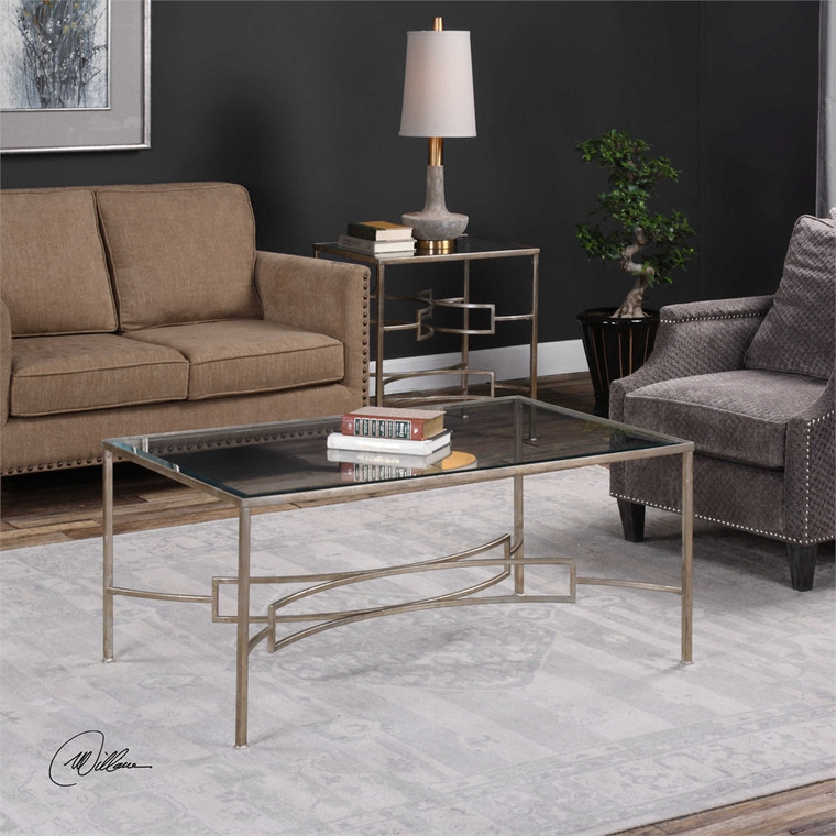 Eilinora Coffee Table - by Uttermost