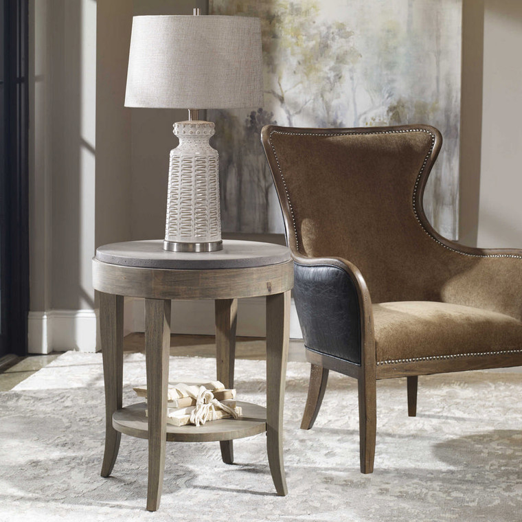 Deka Accent Table by Uttermost