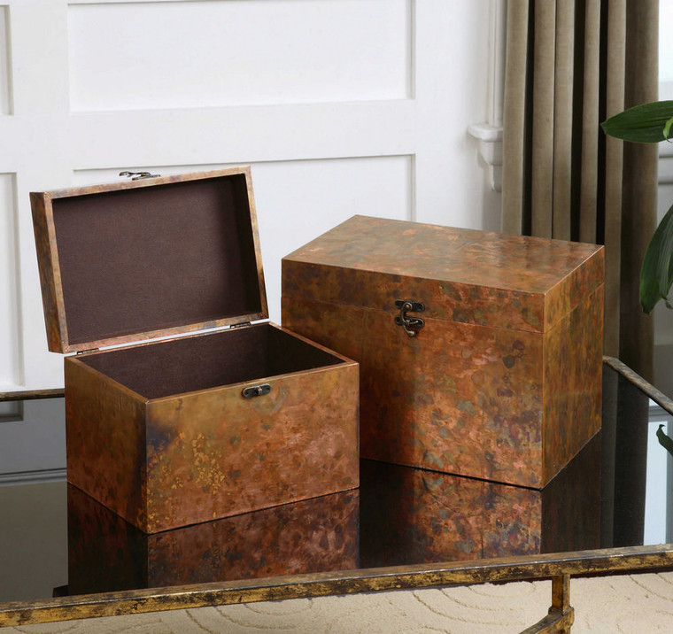 Ambrosia Boxes S/2 by Uttermost