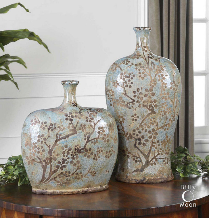 Citrita Vases S/2 by Uttermost