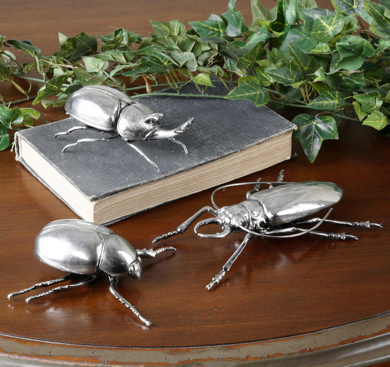 Beetle Figurines S/3 by Uttermost