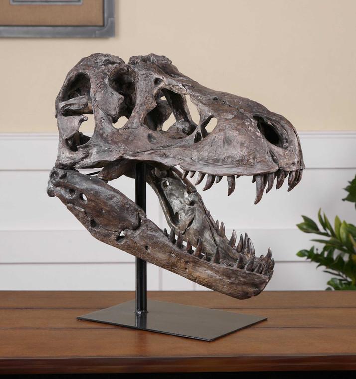 Tyrannosaurus Sculpture by Uttermost