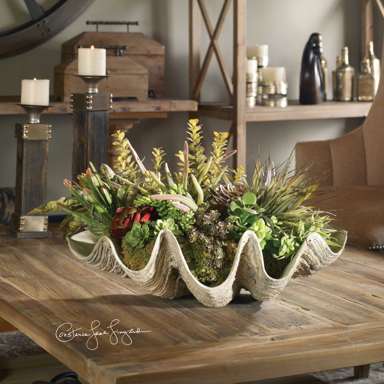 Sea Coast Succulents by Uttermost