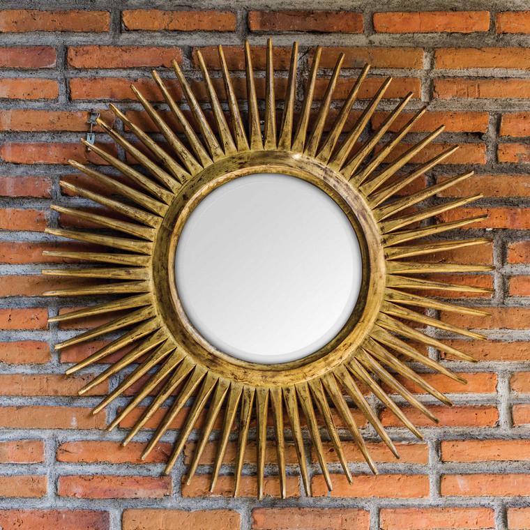 Destello Round Mirror by Uttermost