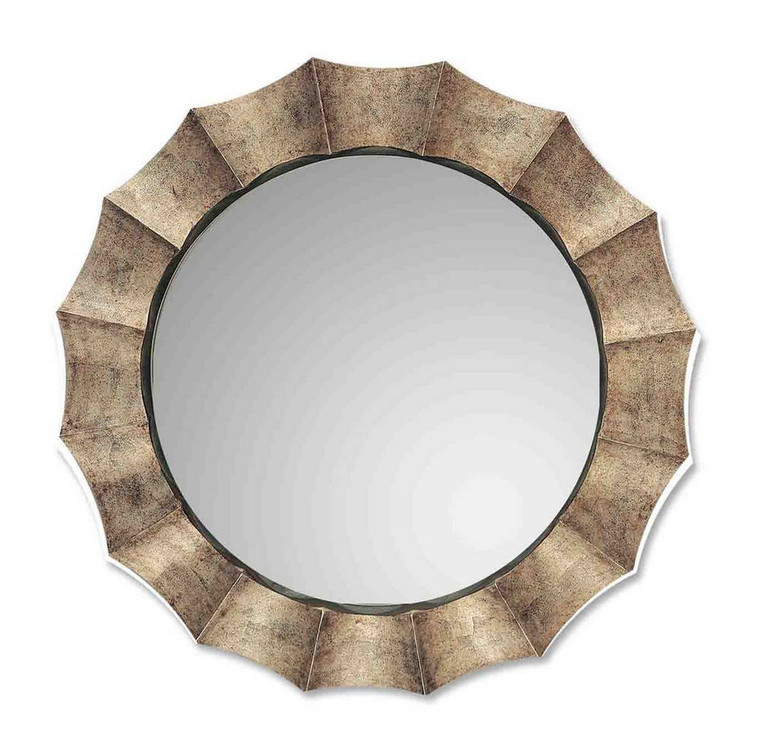 Gotham Round Mirror by Uttermost
