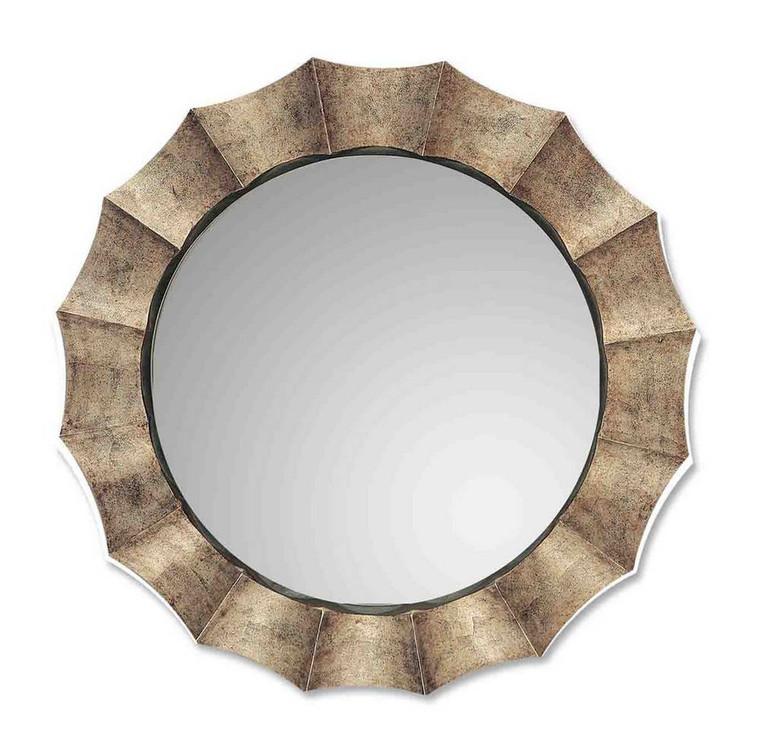 Gotham Round Mirror by Uttermost