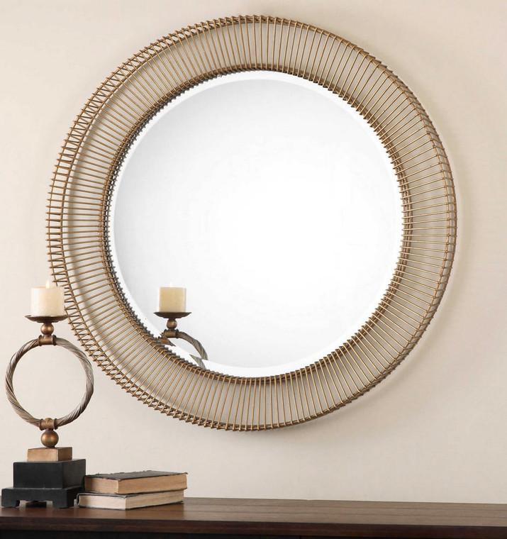 Bricius Round Mirror by Uttermost