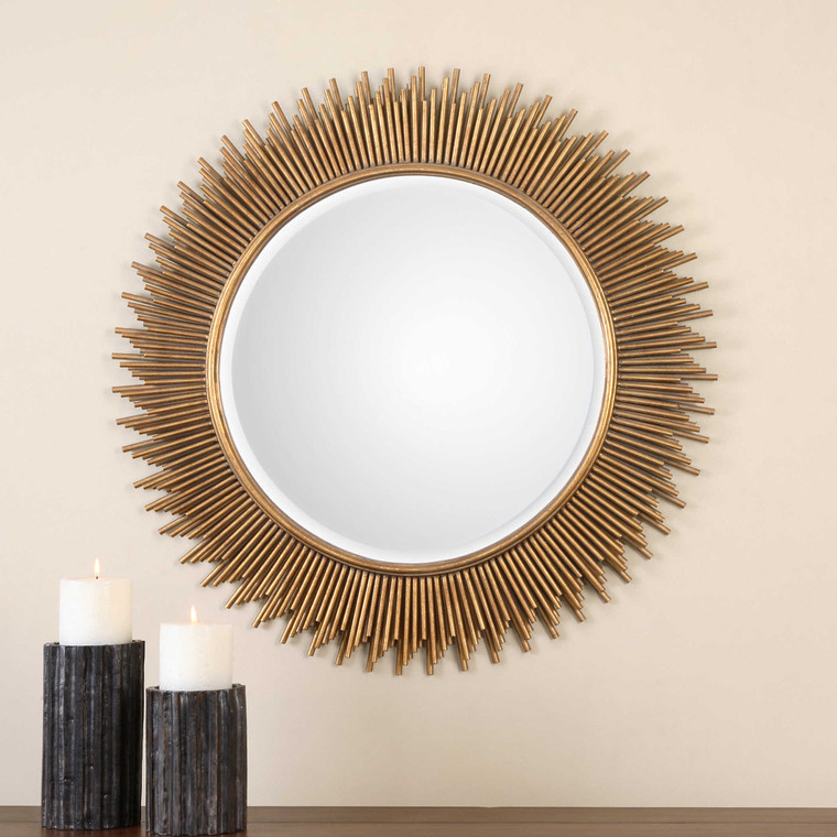 Marlo Round Mirror by Uttermost