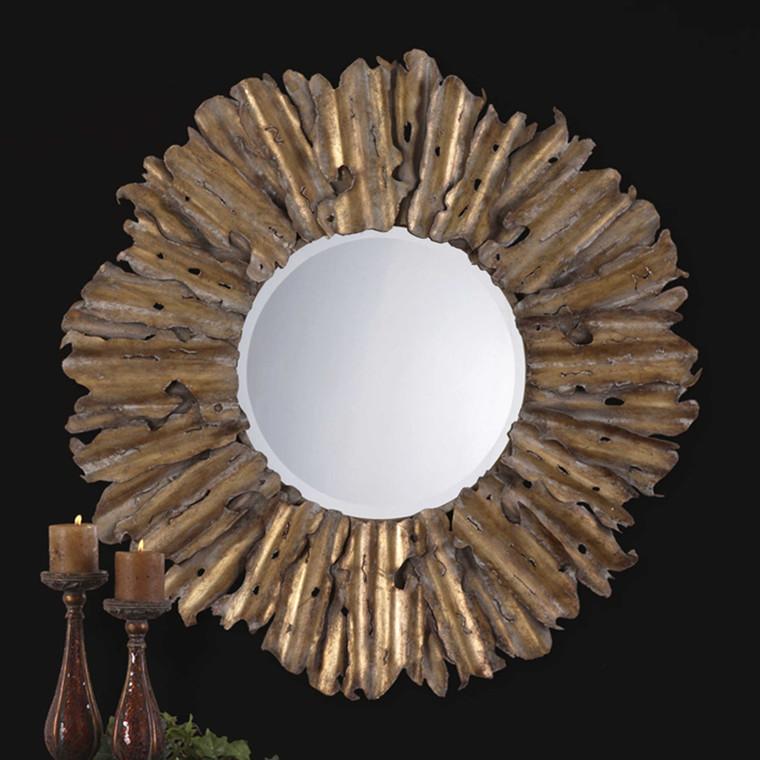 Hemani Round Mirror by Uttermost